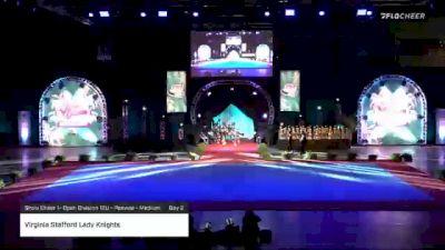 Virginia Stafford Lady Knights [2020 Show Cheer 1- Open Division 12U - Peewee - Medium Day 2] 2020 Pop Warner National Cheer & Dance Championship