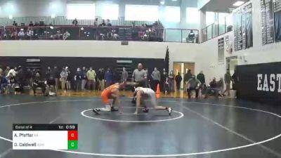 132 lbs Consolation - Alex Pfeffer, Archbishop Ryan vs Dominic Caldwell, Susquenita