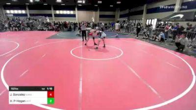 182 lbs Rr Rnd 2 - Julian Gonzalez, Sunnyside Wr Ac vs Hoke Poe-Hogan, Jefferson WC