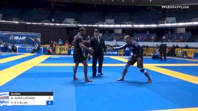 NISAR AMIN LOYNAB vs YURI A V SILVA 2019 World IBJJF Jiu-Jitsu No-Gi Championship