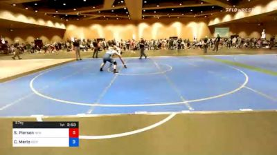57 kg Quarterfinal - Sean Pierson, New Jersey RTC vs Christopher Merlo, Scotsman Wrestling Club