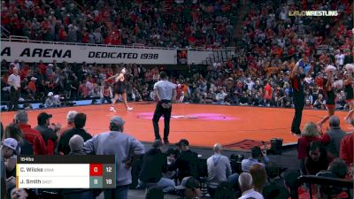 184 lbs Dual - C. Wilcke vs J. Smith