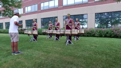 In The Lot: Boston Crusaders Tenors Pt. 2