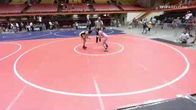 116 lbs Rr Rnd 5 - Alexis Pehrson, Ces vs Corarosa Adams, Wild Cats Wrestling