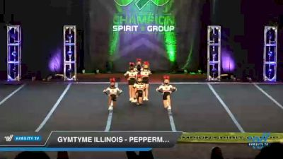GymTyme Illinois - Peppermint [2021 L1.1 Mini - PREP Day 3] 2021 CSG Super Nationals DI & DII
