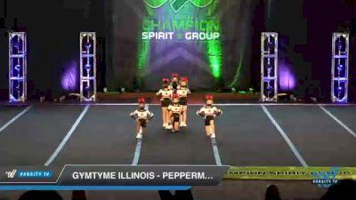 GymTyme Illinois - Peppermint [2021 L1.1 Mini - PREP Day 3] 2021 CSG Super Nationals DI & DII