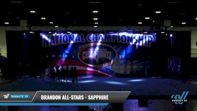 Brandon All-Stars - Sapphire [2021 L4 Senior Day 2] 2021 ACP: Tournament of Champions