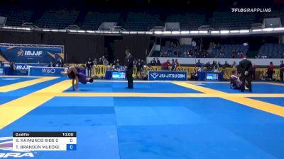 SERGIO RAIMUNDO RIOS DA SILVA vs TODD BRANDON MUECKENHEIM 2019 World IBJJF Jiu-Jitsu No-Gi Championship