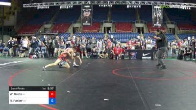 106 lbs Semifinal - Wil Guida, New Jersey vs Riley Parker, Virginia