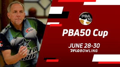 Replay: Lanes 23-24 - 2021 PBA50 Cup - Match Play Round 1