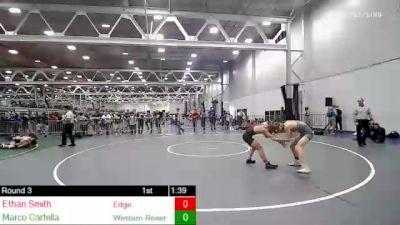 113 lbs Rr Rnd 3 - Ethan Smith, Edge vs Marco Cartella, Western Reserve Academy
