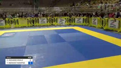 CHARLES RICHARD HOULE vs TENSEI MERCER THOMPSON 2021 Pan Kids Jiu-Jitsu IBJJF Championship
