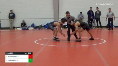 133 lbs Final - Jarrett Trombley, NC State vs Joe Heilmann, UNC Unattached