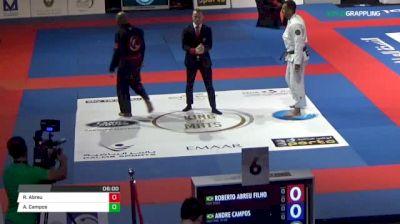 Roberto Abreu Filho vs Andre Campos Abu Dhabi King of Mats 2018 | Grappling