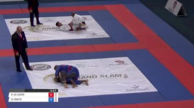 RUAN OLIVEIRA vs DANILO PONTE Abu Dhabi Grand Slam Rio de Janeiro