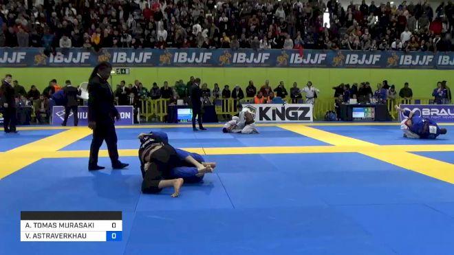 ANDY TOMAS MURASAKI PEREIRA vs VALERY ASTRAVERKHAU 2020 European Jiu-Jitsu IBJJF Championship