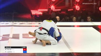 Marcus Norat vs Cleber Lucino F2W Who's #1