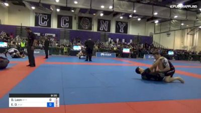 Dante Leon vs Enrique D. Galarza 2018 Pan Jiu-Jitsu IBJJF No Gi Championship