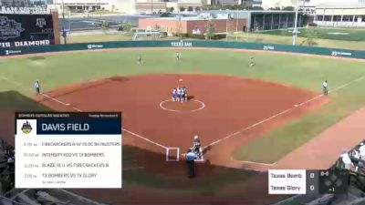 Texas Bombers Gold vs. Texas Glory - 2020 Bombers Exposure Weekend - Davis Diamond - Pool Play