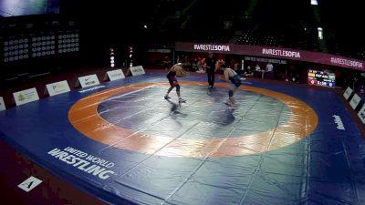 125 kg Jose Vazquez, ESP vs Vakhit Galayev, AZE