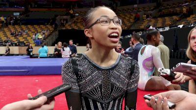 Interview: Morgan Hurd - Day 2, 2018 US Championships