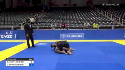 CORY HEATH JOHNSON vs CHAD EDWARD MYERS 2021 World IBJJF Jiu-Jitsu No-Gi Championship