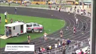 High School Girls' 4x400m Relay, Finals 1