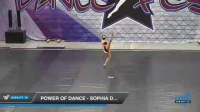 Power of Dance - Sophia De Caster [2021 Senior - Solo - Jazz Day 2] 2021 Badger Championship & DanceFest Milwaukee