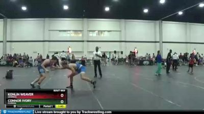 155 lbs 3rd Place Match - Konlin Weaver, Georgia vs Connor Ivory, Florida