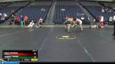 160 lbs Cons. Round 6 - Cole Cochran, Georgia vs Murphy Menke, Colorado