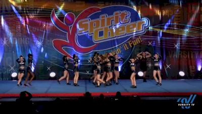 Cheer Militia All Stars - Black Ops [2020 Senior - D2 - Small Day 1] 2020 Beast of the East DI & DII Winter Nationals