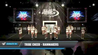 Tribe Cheer - Rainmakers [2021 L3 Senior Day 1] 2021 The U.S. Finals: Kansas City