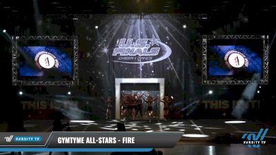 GymTyme All-Stars - Fire [2021 L2.1 Junior - PREP Day 1] 2021 The U.S. Finals: Louisville