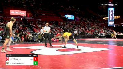 174 lbs Prelims - Philip Spadafora, Maryland vs Layne Malczewski, Michigan State