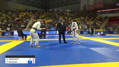 HUGO DOERZAPFF MARQUES vs SEBASTIAN BROSCHÉ 2019 World Jiu-Jitsu IBJJF Championship