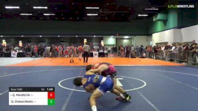 113 lbs Round Of 16 - Quinn Melofchik, Nj vs Greg Diakomihalis, Ny