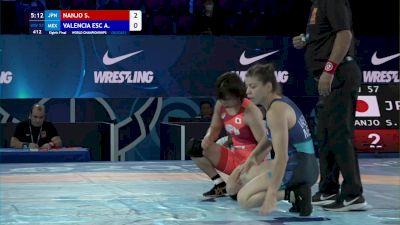 57 kg 1/8 Final - Sae Nanjo, Japan vs Alma Valencia Escoto, Mexico