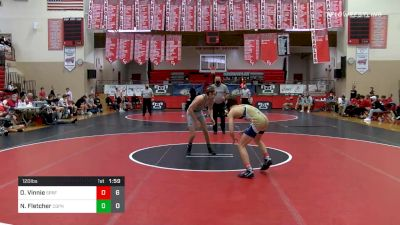 120 lbs Semifinal - Ortlip, Vinnie, Spring-Ford vs Nathan Fletcher, Central Dauphin