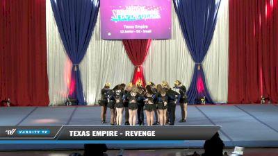 Texas Empire - Revenge [2021 L3 Junior - D2 - Small Day 1] 2021 The American Spectacular DI & DII