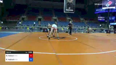 86 kg Rr Rnd 1 - Michael Nelson, Minnesota vs Riley Habisch, Bison Wrestling Club