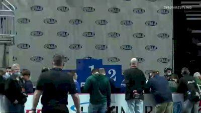 138 lbs Final - Cole Homet, Waynesburg vs Finn Solomon, Franklin Regional