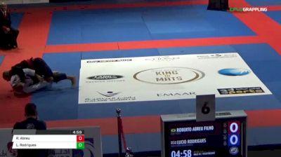 Roberto Abreu Filho vs Lucio Rodrigues Abu Dhabi King of Mats 2018 | Grappling