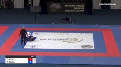 FELIPE SILVA vs THIAGO SOUSA 2018 Abu Dhabi Grand Slam Rio De Janeiro