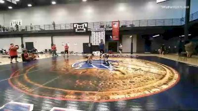 65 lbs Final - Braxton Baker, Mat Demon Wrestling Club vs Javier Salas III, Stray Dawgs