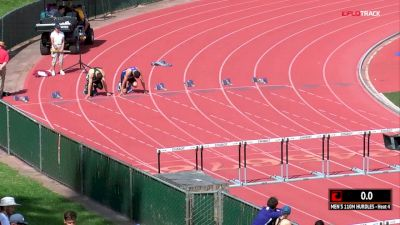 Men's 110m Hurdles, Heat 4