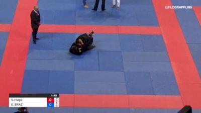 Victor Hugo Marques vs ELIOENAI BRAZ 2018 Abu Dhabi Grand Slam Rio De Janeiro