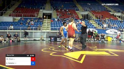 285 lbs Rnd Of 64 - Mateo Cruz, New Jersey vs Eugene Satele, Maryland