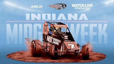 Full Replay: Indiana Midget Week at Lawrenceburg Speedway 6/20/20