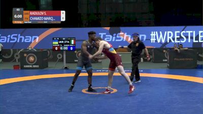 74 kg Semifinal - Semen Radulov, UKR vs Frank Chamizo, ITA