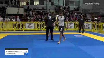 Matheus Gabriel Pinheiro vs Felipe Cesar Silva 2021 Pan IBJJF Jiu-Jitsu No-Gi Championship